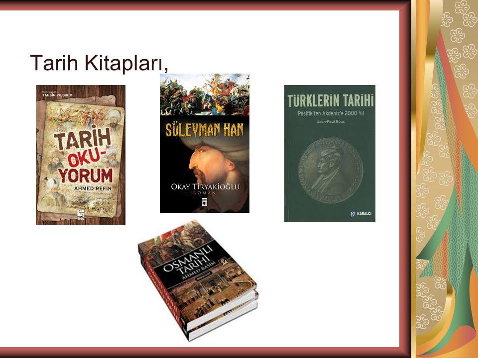 Tarih Kitapları,