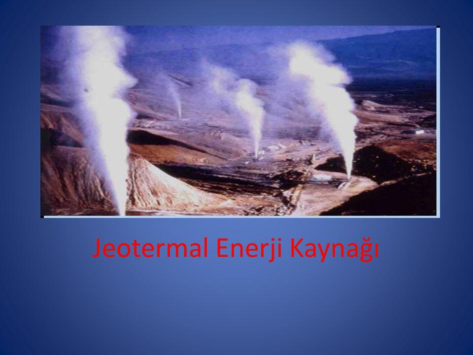 Jeotermal Enerji Kaynağı