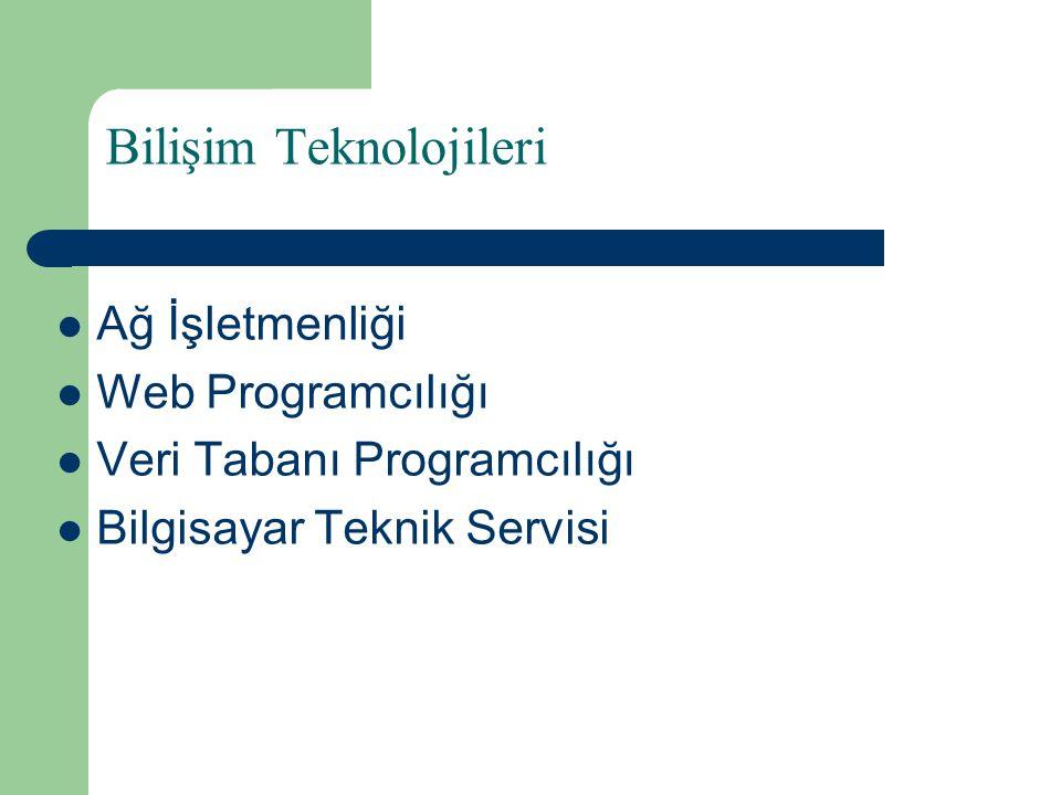 Ağ İşletmenliği Tanımı  Bilgisayar sistemlerinin donanım ve yazılım kurulumu, ağ sistemlerinin kurulumu, yönetimi ve ağ ortamı üzerinde yaşanabilecek sorunlar, çözüm yolları ve geniş ağ sistemleri yönetimine yönelik eğitim ve öğretim verilen daldır.