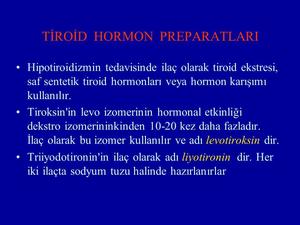 Levotiroksin sodyum: L-tiroksin in sodyum tuzudur.