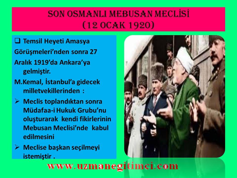 AMASYA GÖRÜ Ş MELER İ 'N İ N ÖNEM İ  İstanbul Hükümeti Amasya görüşmesine temsilci göndermekle, Temsil Heyetinin hukuki varlığını tanımış oluyordu. 