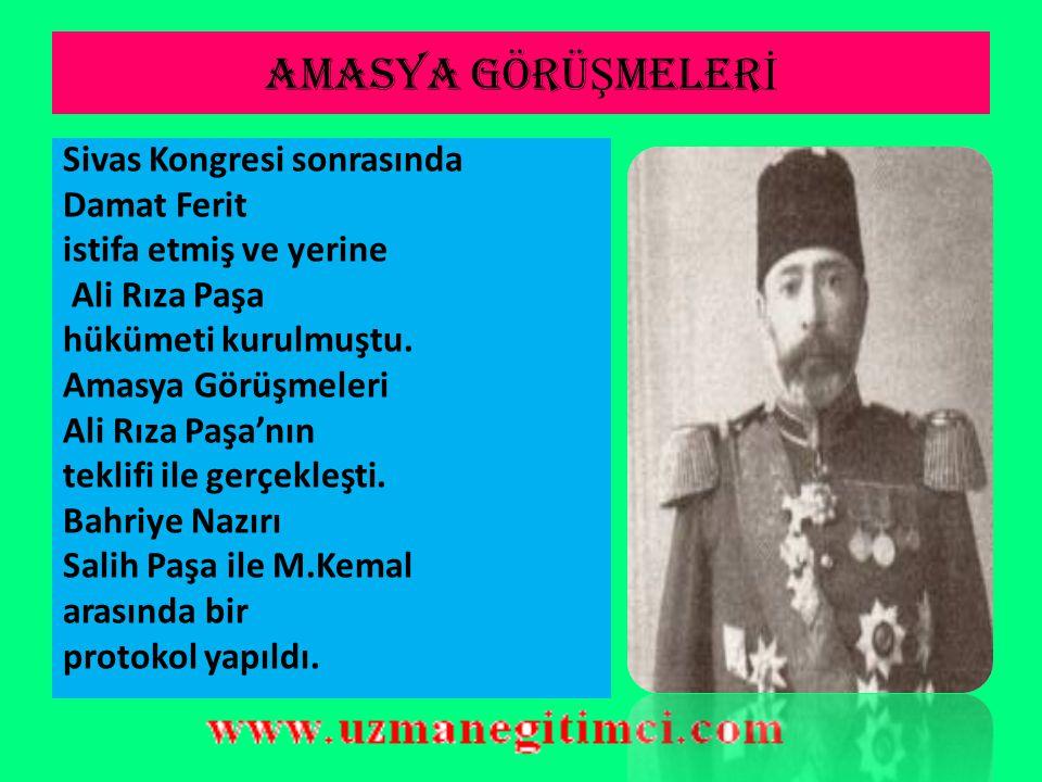 """DAMAT FER İ T PA Ş A  Milli Mücadele hareketini anlamaktan yoksun bir kişi olan Damat Ferit Paşa, """"Anadolu hareketleri,Birinci Dünya Savaşı'nda terfi"""
