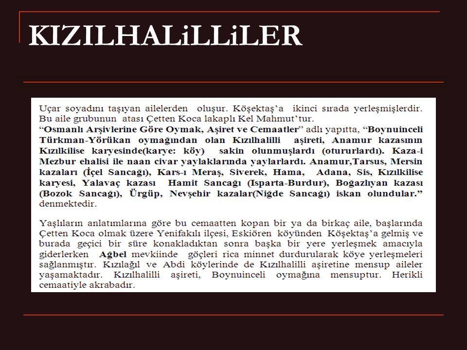 KIZILHALiLLiLER