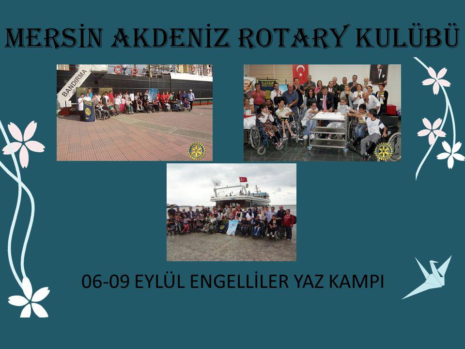ERKEN TANI HAYAT KURTARIR EĞİTMEN EĞİTİMİ 23 EYLÜL 2012 MERS İ N AKDEN İ Z ROTARY KULÜBÜ