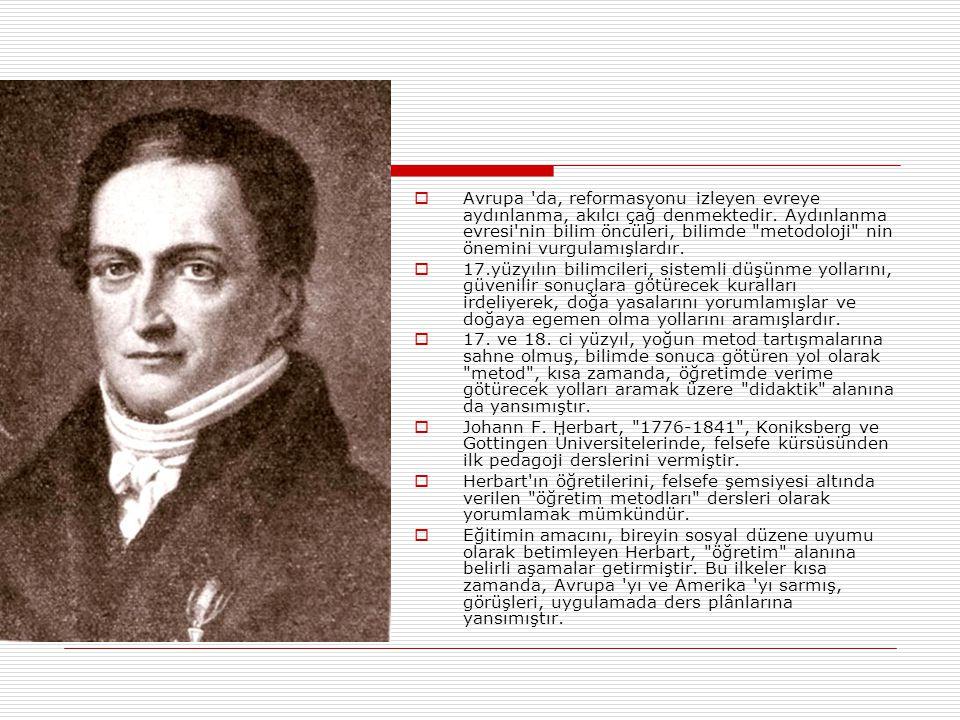  Avrupa 'da, reformasyonu izleyen evreye aydınlanma, akılcı çağ denmektedir. Aydınlanma evresi'nin bilim öncüleri, bilimde