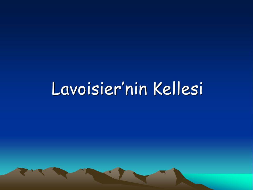 Lavoisier'nin Kellesi