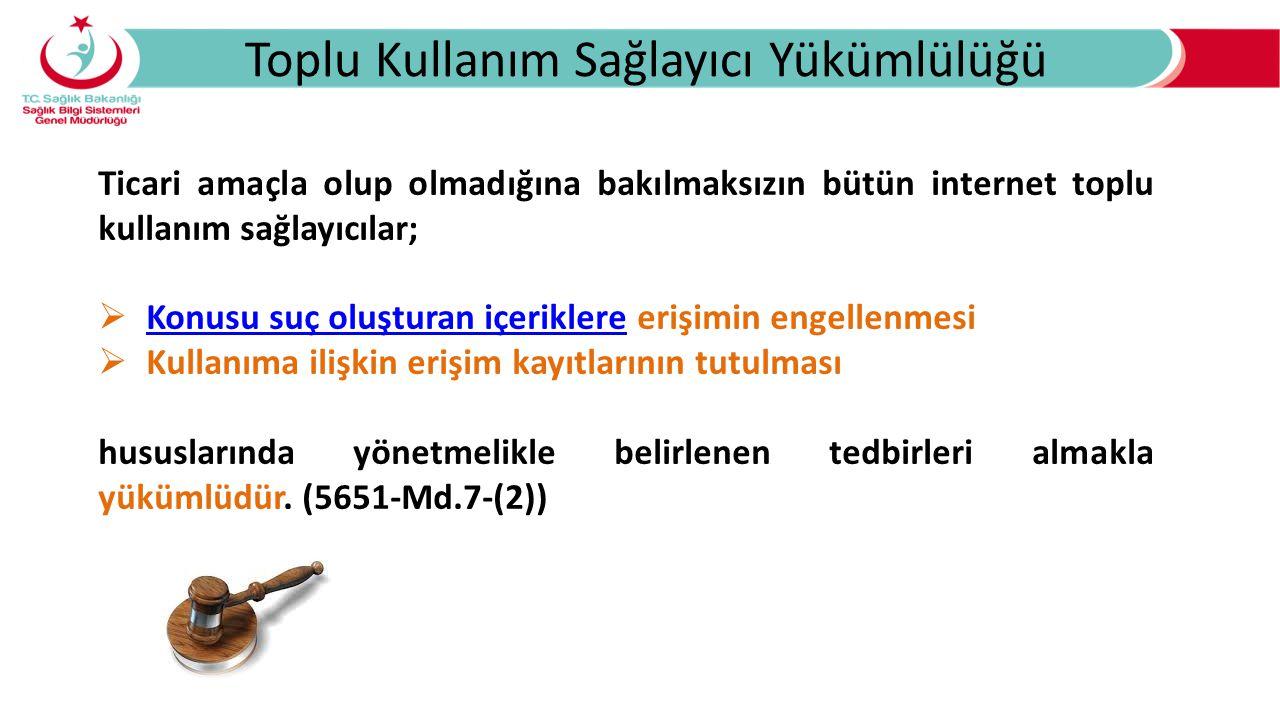 Konusu Suç Oluşturan İçerikler a) 26/9/2004 Tarihli ve 5237 Sayılı Türk Ceza Kanununda yer alan suçlar: 1) İntihara yönlendirme (madde 84), 2) Çocukların cinsel istismarı (madde 103, birinci fıkra), 3) Uyuşturucu veya uyarıcı madde kullanılmasını kolaylaştırma (madde 190), 4) Sağlık için tehlikeli madde temini (madde 194), 5) Müstehcenlik (madde 226), 6) Fuhuş (madde 227), 7) Kumar oynanması için yer ve imkân sağlama (madde 228), b) 25/7/1951 Tarihli ve 5816 Sayılı Atatürk Aleyhine İşlenen Suçlar Hakkında Kanunda yer alan suçlar.