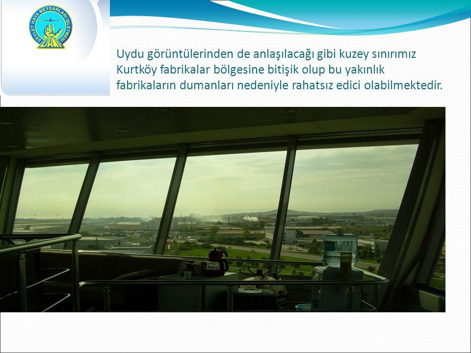 Uydu görüntülerinden de anlaşılacağı gibi kuzey sınırımız Kurtköy fabrikalar bölgesine bitişik olup bu yakınlık fabrikaların dumanları nedeniyle rahatsız edici olabilmektedir.