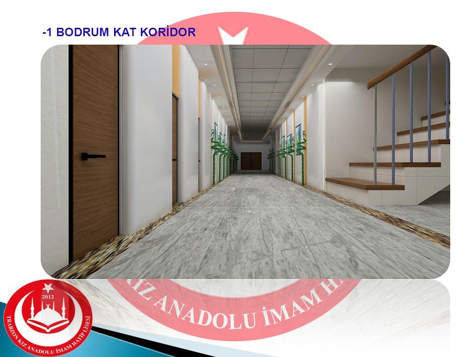 -1 BODRUM KAT KORİDOR