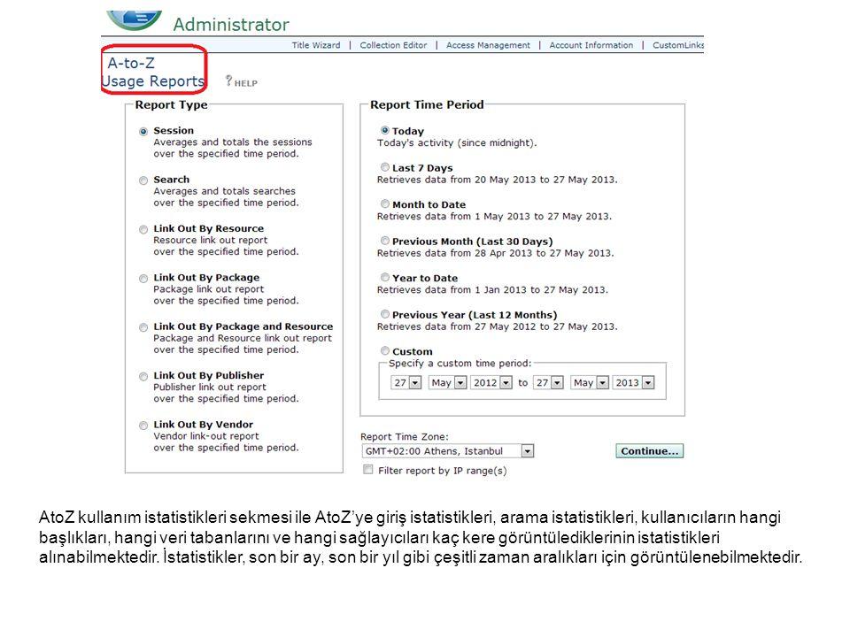 LinkSource kullanım raporları, link aktivitelerine dair bilgiler sağlamaktadır.