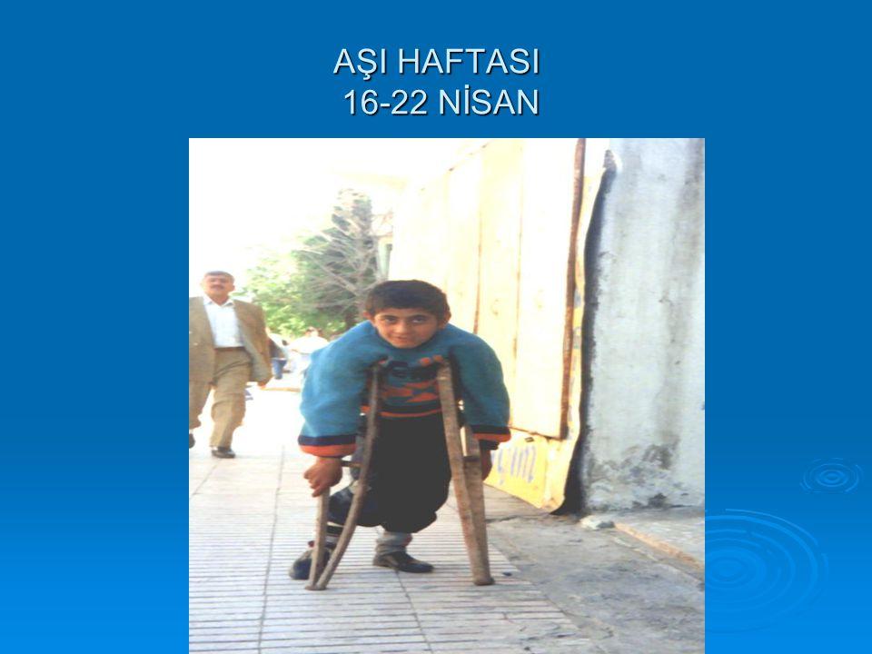 AŞI HAFTASI 16-22 NİSAN