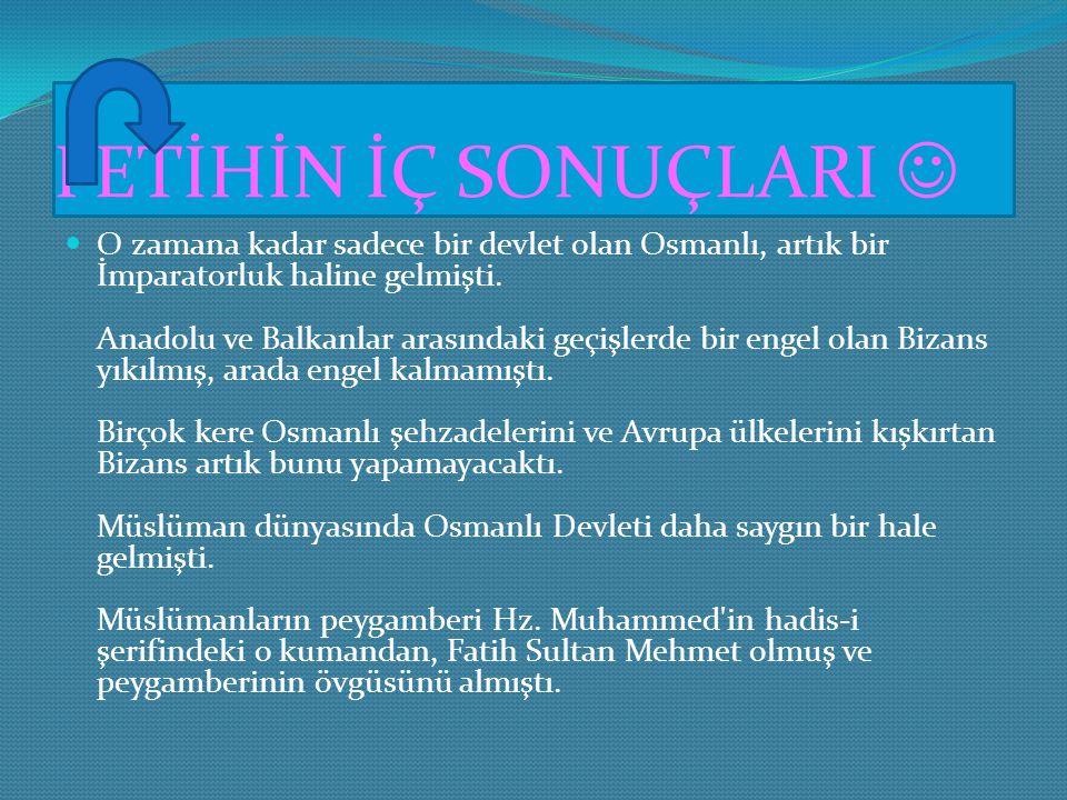 SALDIRMA HAZIRLIKLARI.. Sultan II. Mehmet, Theodosius Surları'na ve şehrin su ile çevrili olmayan tek bölgesini batıdan gelebilecek saldırılardan koru
