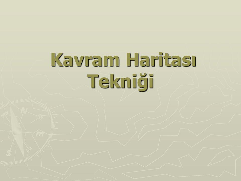 Örnek kavram haritaları SOSYAL BİLGİLER DERSİ İÇİN;
