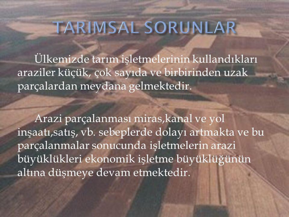 IMF ile imzalanan stand-by anlaşması çerçevesinde Tarımsal Reform ve Tarımda Yeniden Yapılanma Programın da Türkiye'nin hedefleri şu şekilde sıralanmıştır: 1.