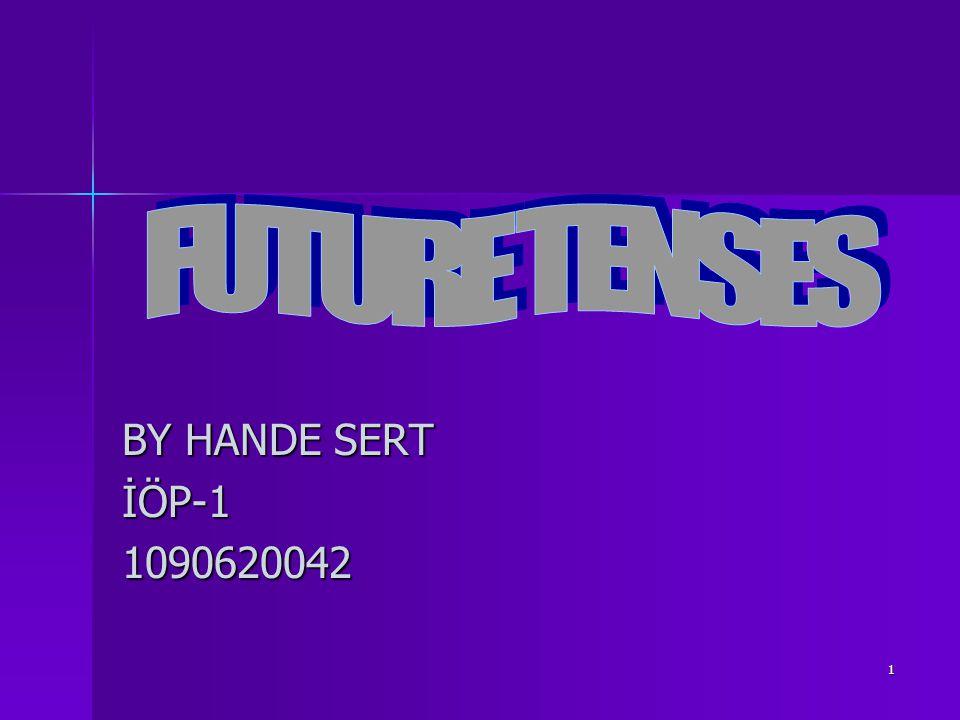 1 BY HANDE SERT İÖP-11090620042