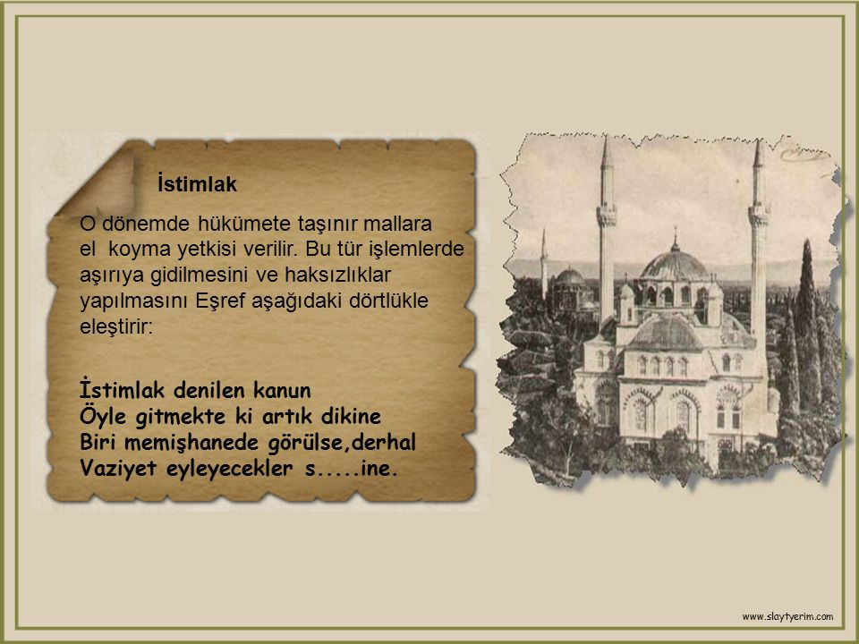 Eşek ve Paşa Kâmil Paşa,Kıbrıs'a geziye gidiyordu.Eşref'e