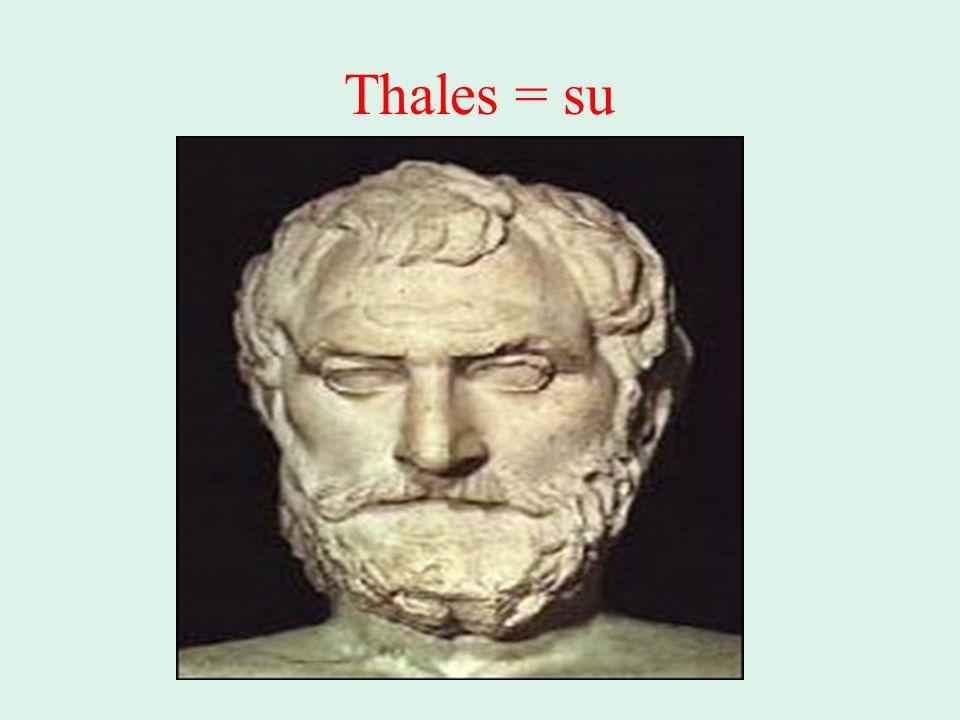 Thales = su