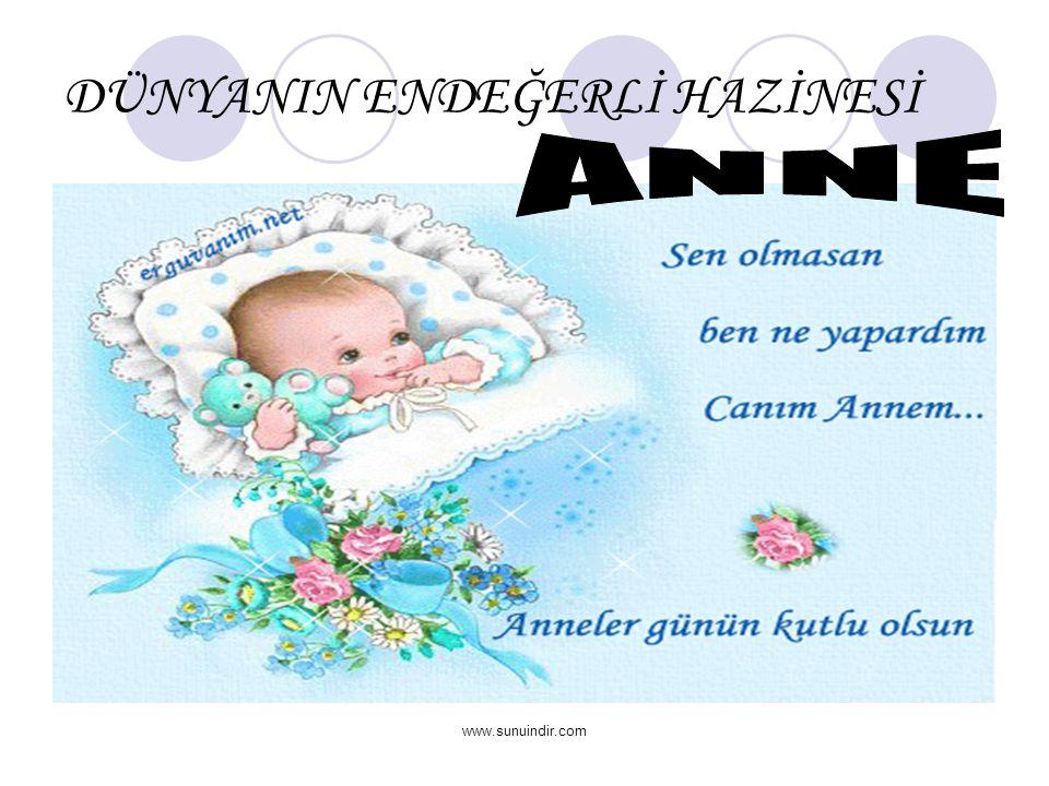 www.sunuindir.com DÜNYANIN ENDEĞERLİ HAZİNESİ