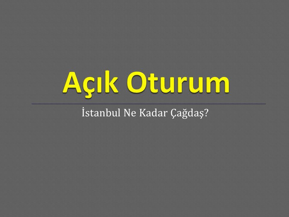 İstanbul Ne Kadar Çağdaş