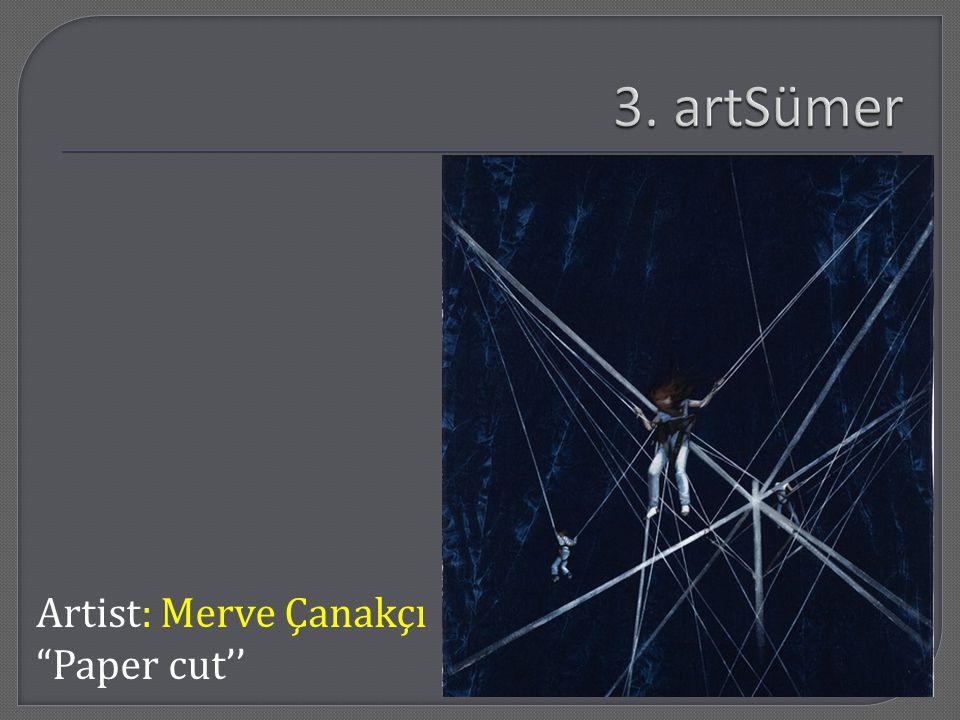 Artist: Merve Çanakçı Paper cut''