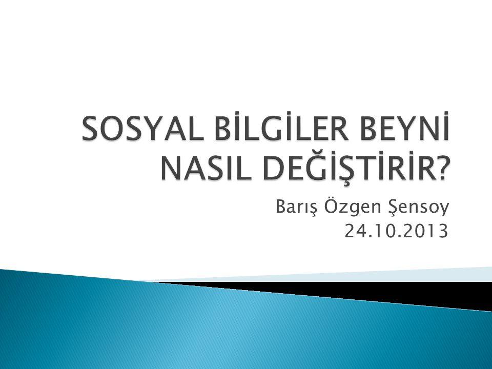 Barış Özgen Şensoy 24.10.2013