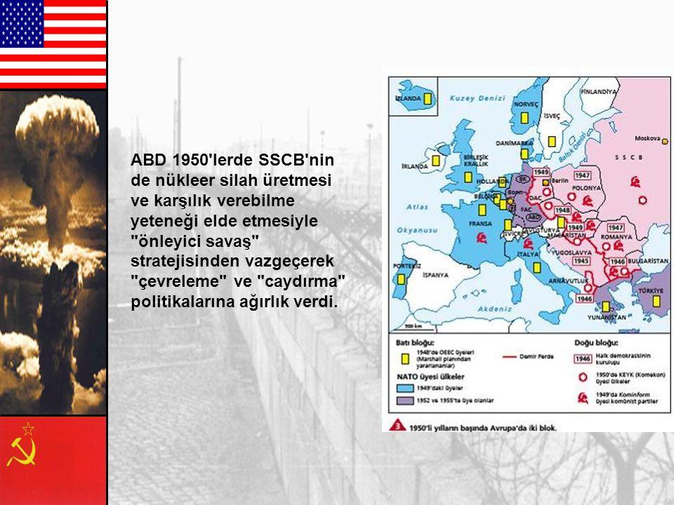 Varşova Paktı (1955) S. S. C. B. Arnavutluk Bulgaristan Çekoslavakya Doğu Almanya MacaristanPolonya Romanya