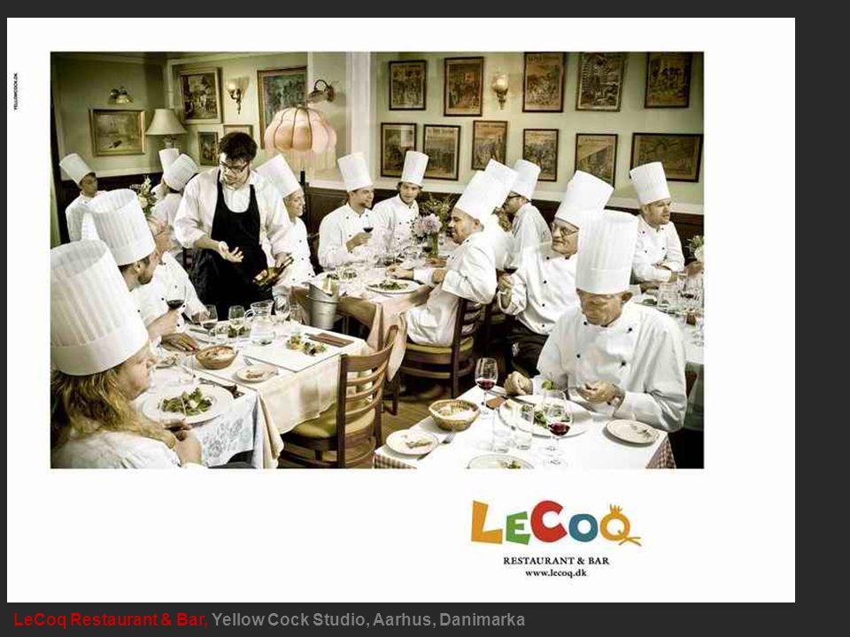 LeCoq Restaurant & Bar, Yellow Cock Studio, Aarhus, Danimarka