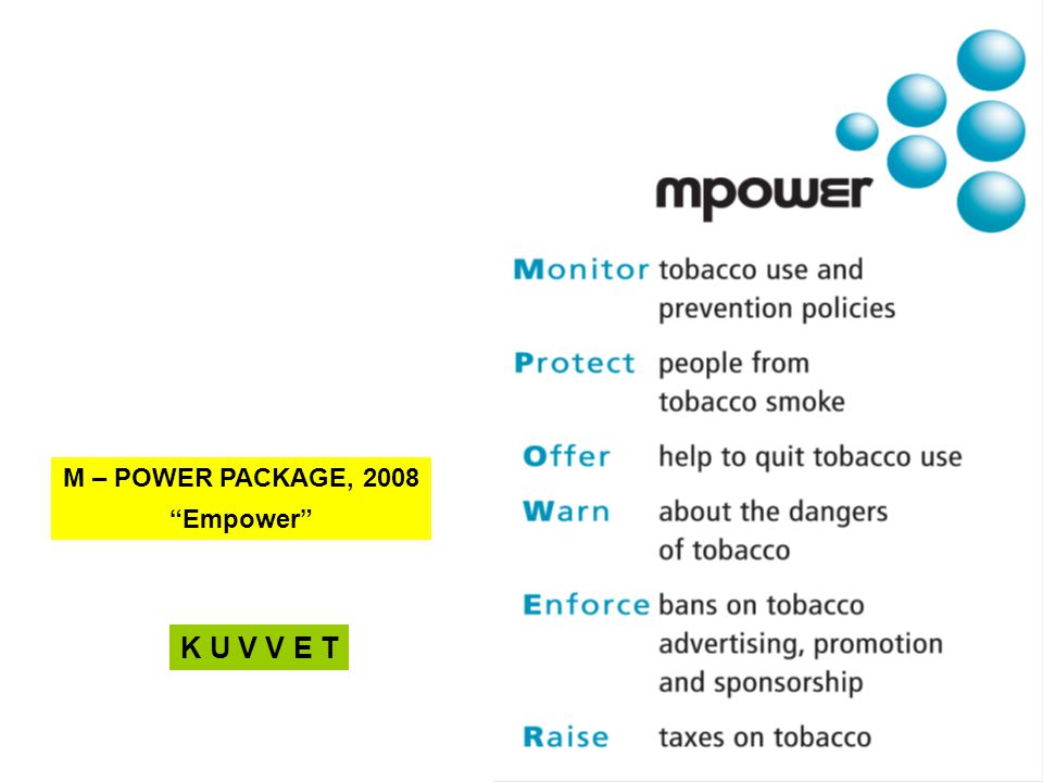 "M – POWER PACKAGE, 2008 ""Empower"" K U V V E T"