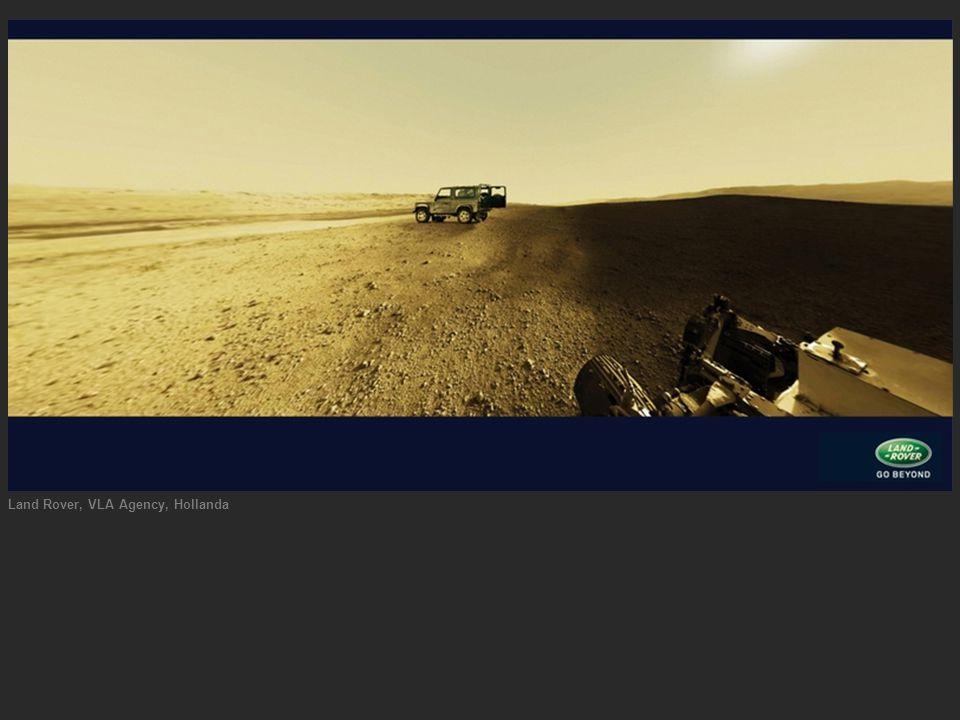 Land Rover, VLA Agency, Hollanda