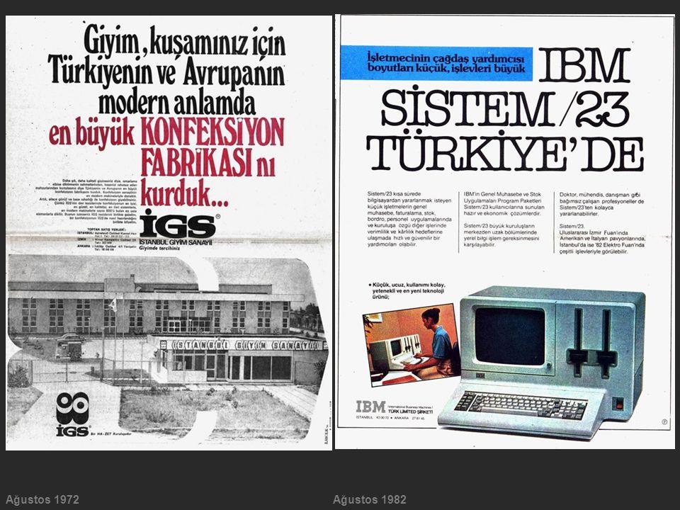 Ağustos 1972Ağustos 1982