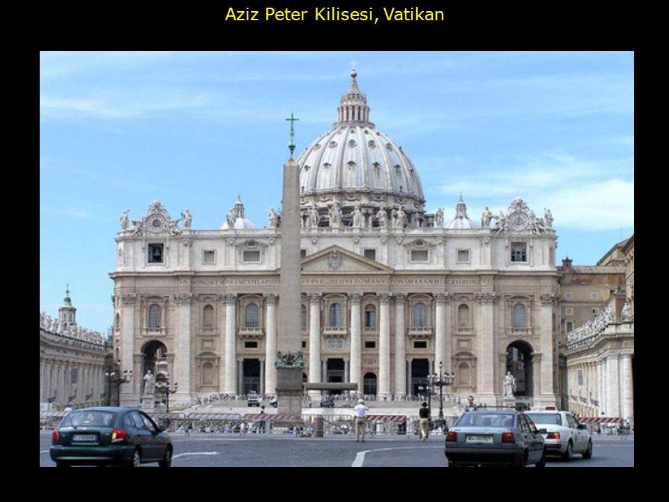 Aziz Peter Kilisesi, Vatikan