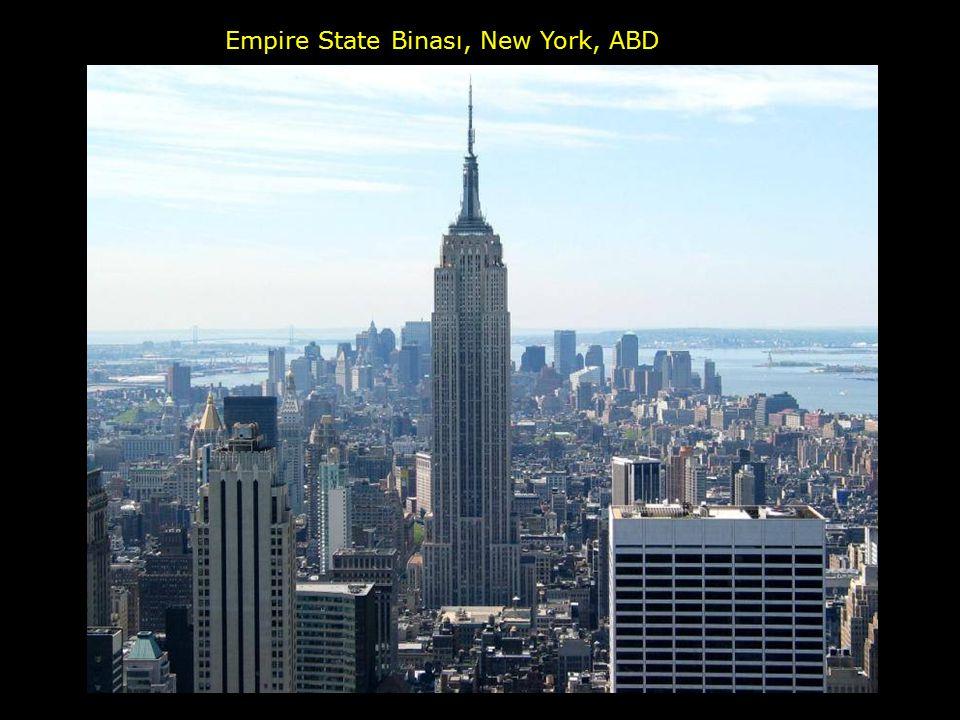 Empire State Binası, New York, ABD