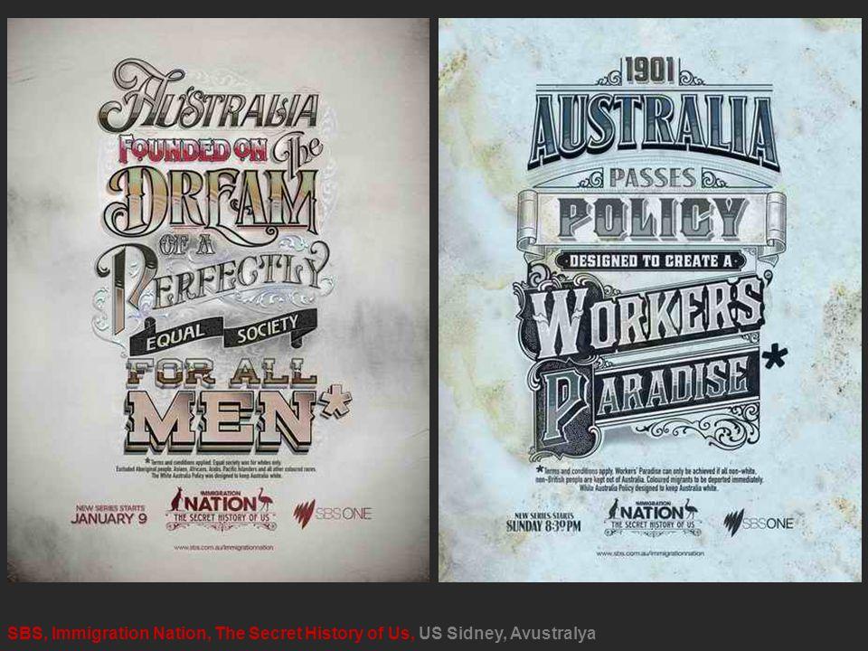 SBS, Immigration Nation, The Secret History of Us, US Sidney, Avustralya
