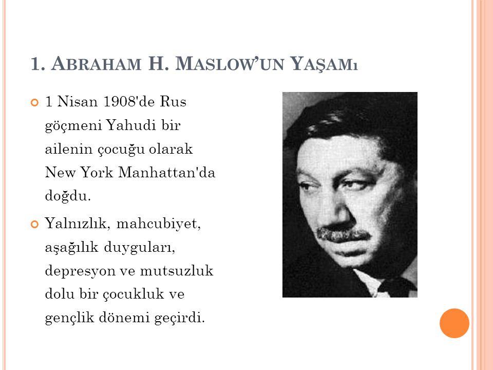 1. A BRAHAM H.