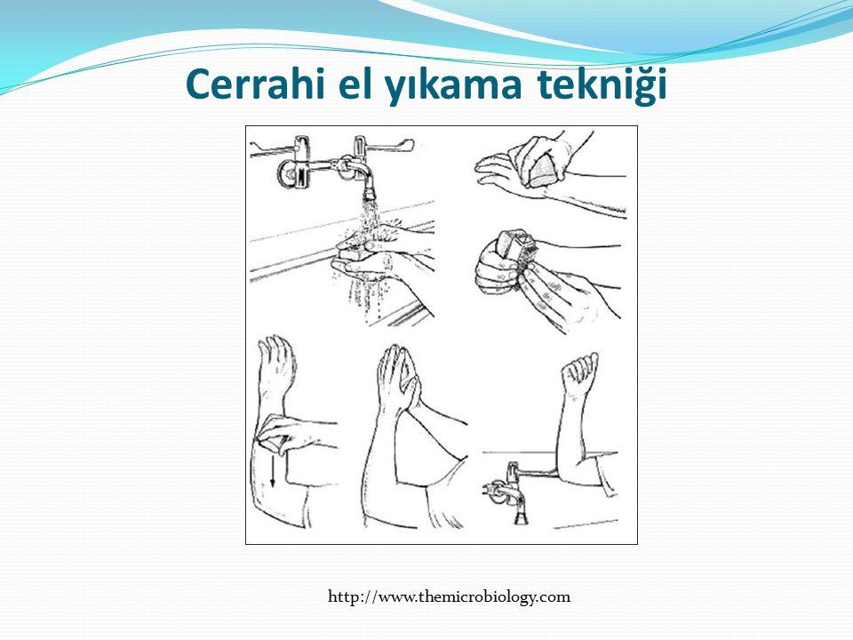 Cerrahi el yıkama tekniği http://www.themicrobiology.com
