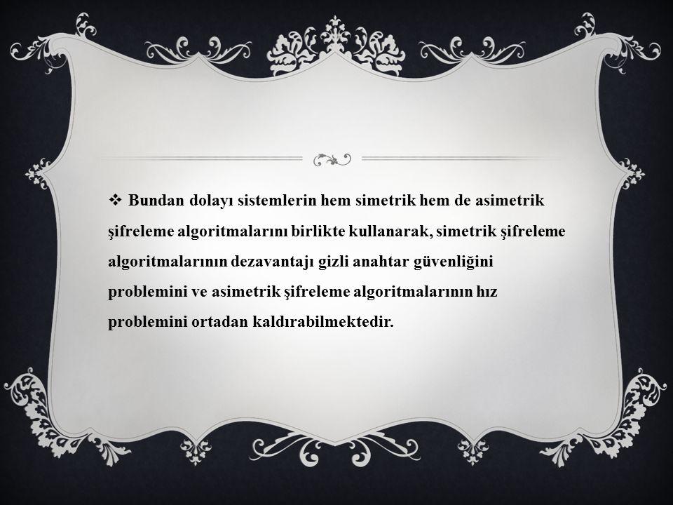THE DİFFİE-HELLMAN ANAHTAR DEĞİŞİMİ (AÇIK ŞİFRELEME METODU)