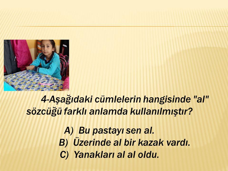  A) Öğretmen