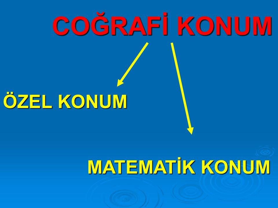 ÖZEL KONUM MATEMATİK KONUM