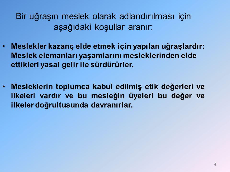 TEMEL KURALLAR (devam) 5.