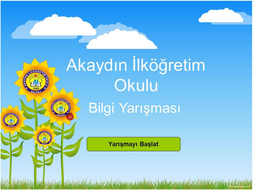 Birinci bölüm Türkçe dersi sorularından oluşmaktadır.