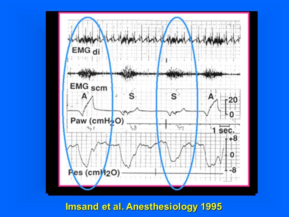 Imsand et al. Anesthesiology 1995