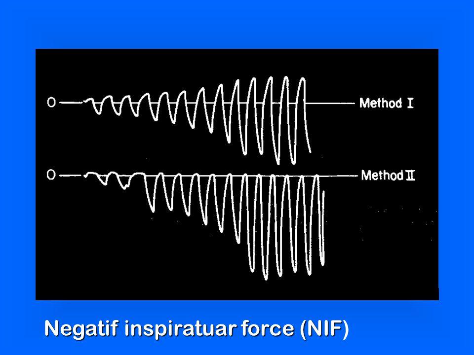 Negatif inspiratuar force (NIF Negatif inspiratuar force (NIF)