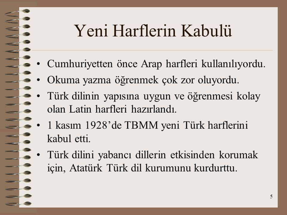 4 Öğretim Birliği Osmanlı devleti zamanında medrese ve okul diye iki ayrı eğitim kurumu vardı. TBMM 3 mart 1924'te öğretim birliği kanununu kabul etti