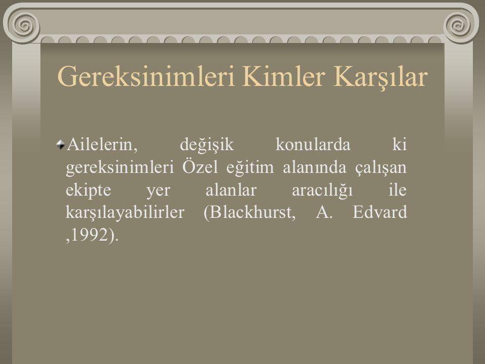 Aile Eğitimi Araştırması Sucuoğlu ve Kuloğlu (1992), otistik çocuklara bağımsız yaşam becerileri kazandırılması konulu iki aşamalı bir araştırma yürütmüşlerdir.