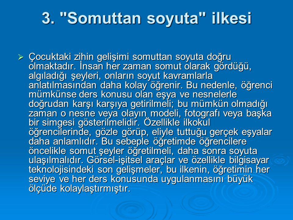 Örneğin; 3.