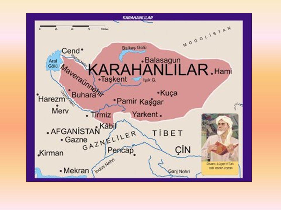 GAZNELİLER Kuzey Hindistan, Afganistan ve İran ın doğusunda Alp Tigin tarafından kuruldu (963).