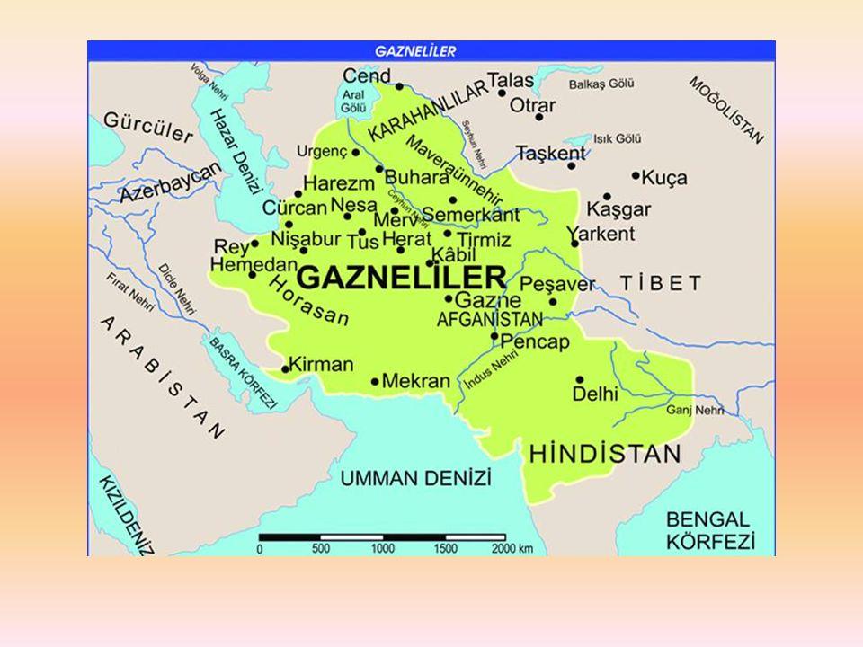 BÜYÜK SELÇUKLULAR Oğuzların Kınık boyundan, Selçuk Bey'in torunları Tuğrul ve Çağrı beyler 1040 da Dandanakan Savaşı nda Gaznelileri yenerek bağımsızlıklarını elde ettiler.