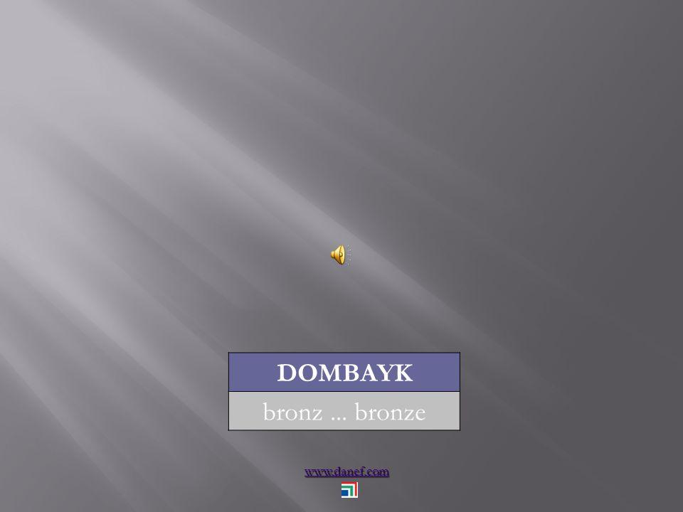 www.danef.com DOMBAYK bronz... bronze