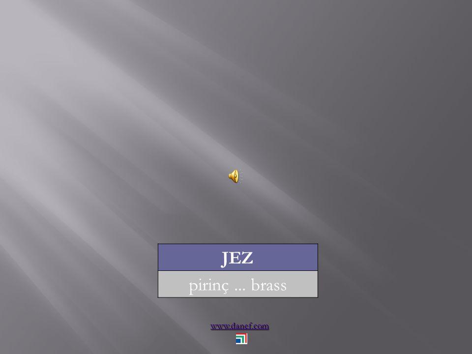 www.danef.com JEZ pirinç... brass