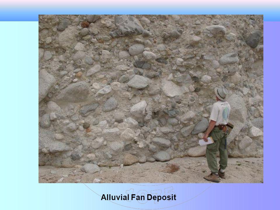 Alluvial Fan Deposit